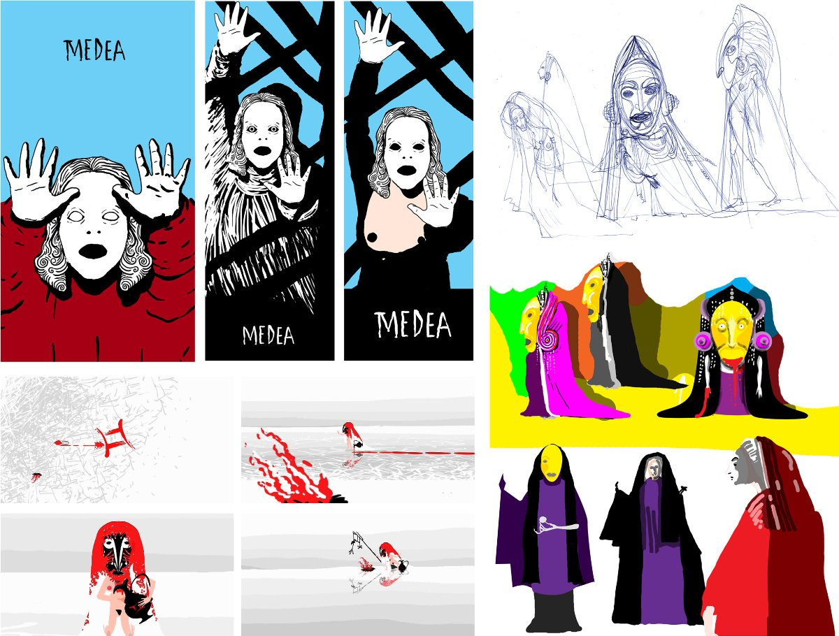 Medea - First Ideas - Early preproduction art