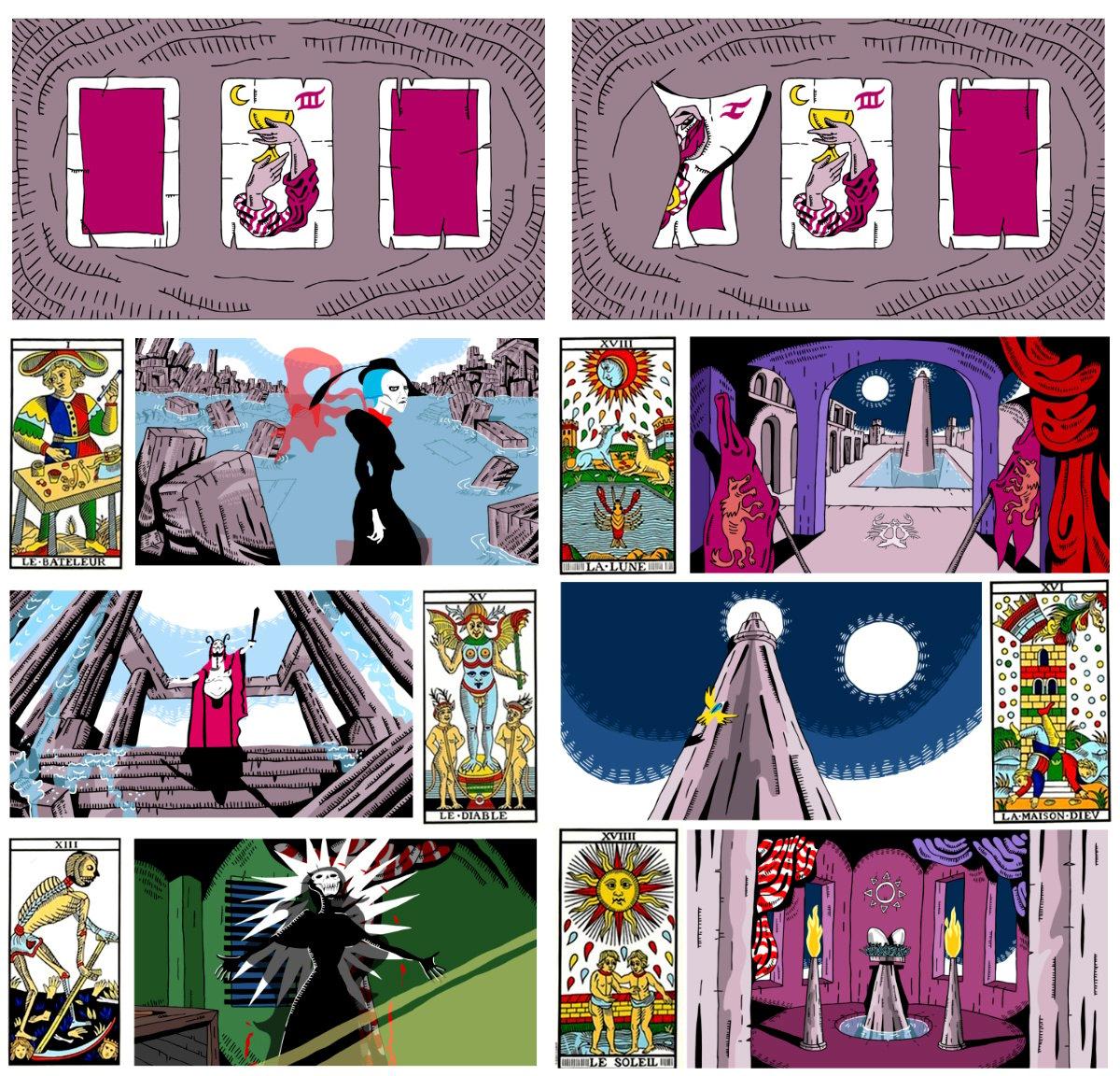 Medea - Tarot Card Imagery