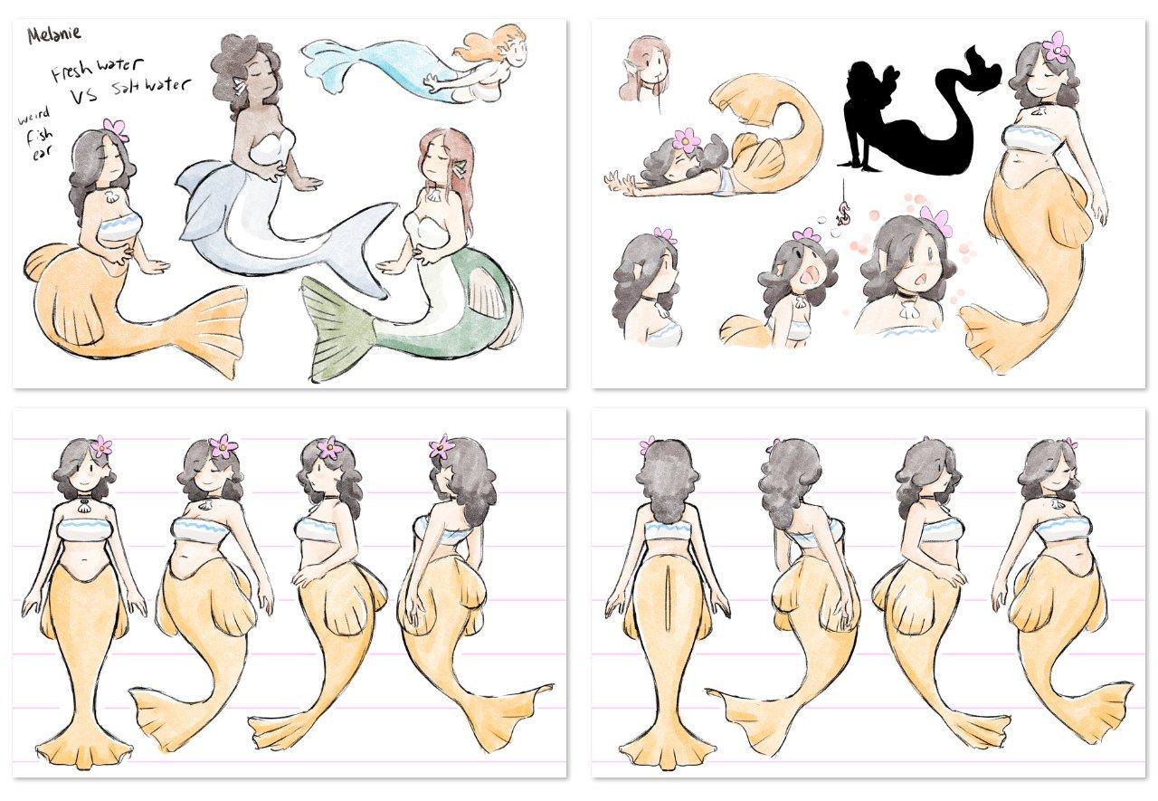 Melanie Character Design
