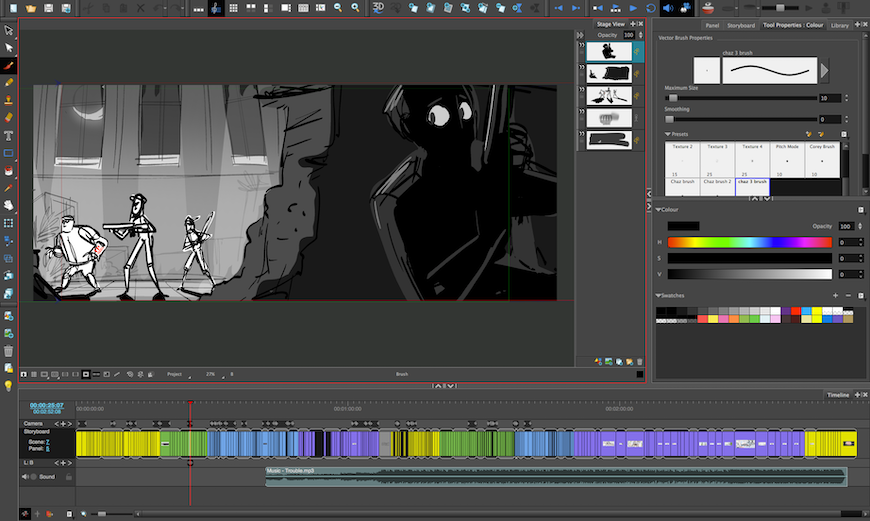 The_Indies_Animated_Short_Storyboard_Pro