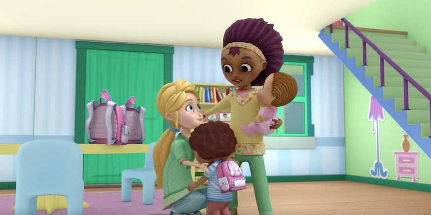 Doc McStuffins shows Disney's first same-sex couple in a cartoon.
