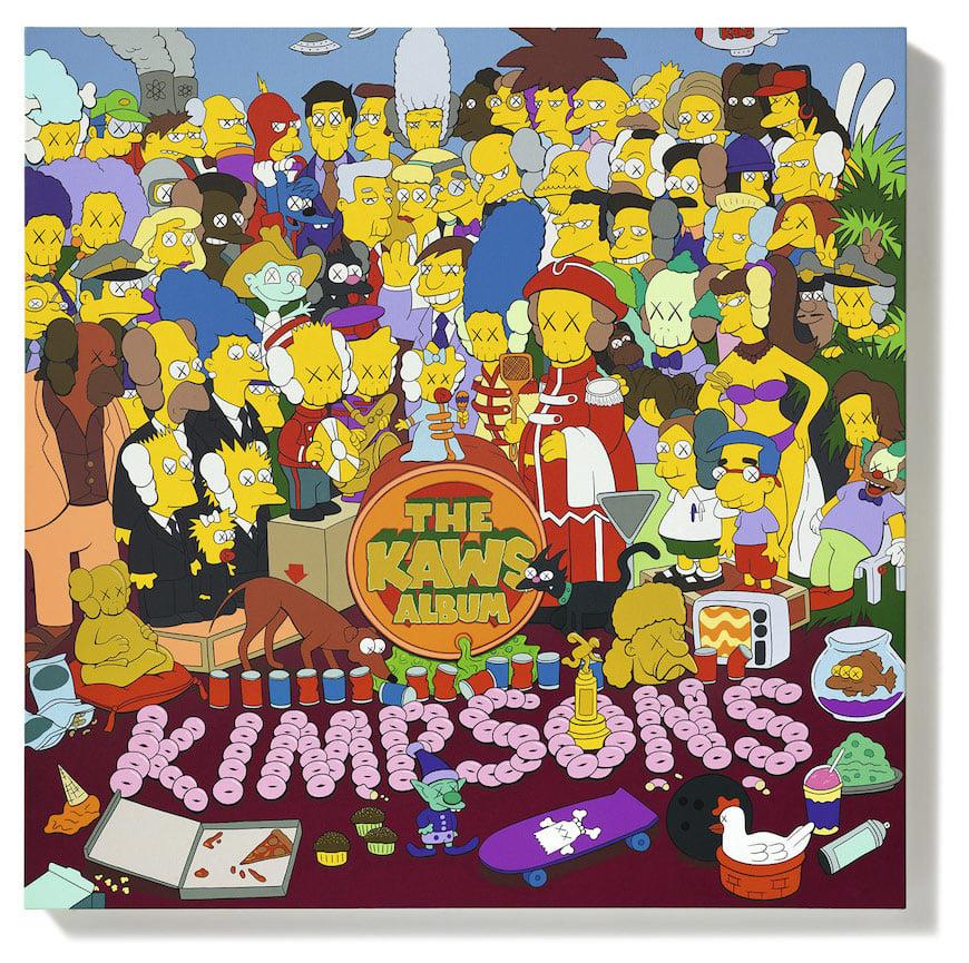 kaws-the-simpsons
