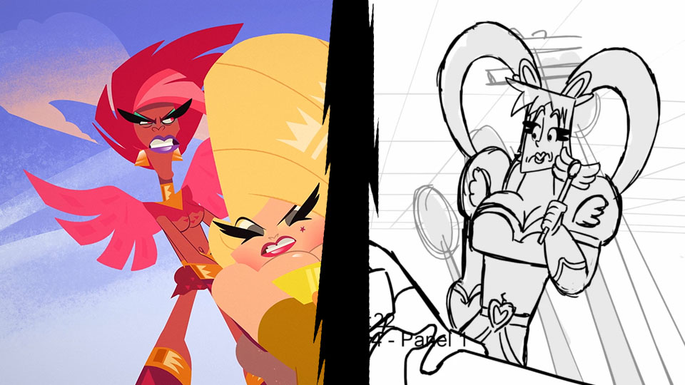 super-drags-toon-boom-storyboard-pro