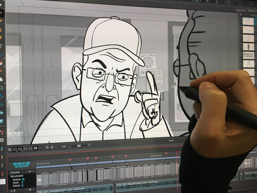 toon_boom_storyboard_pro_corner_gas_animated