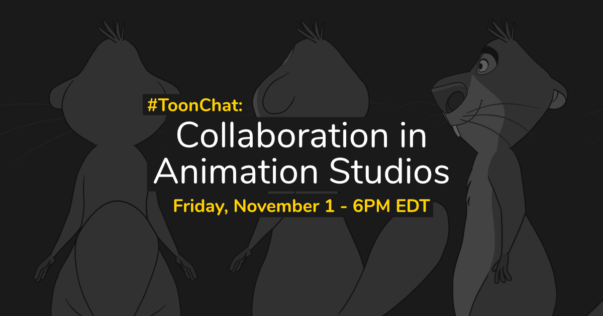 #ToonChat: Collaboration in Animation Studios