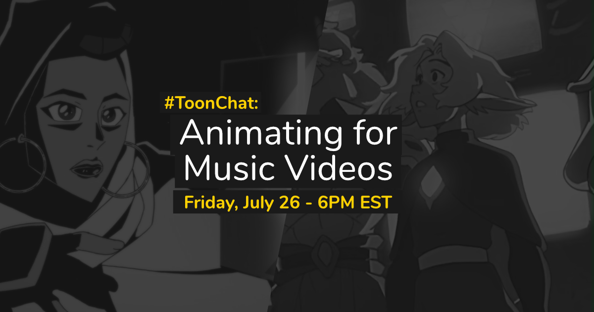 #ToonChat: Animating For Music Videos