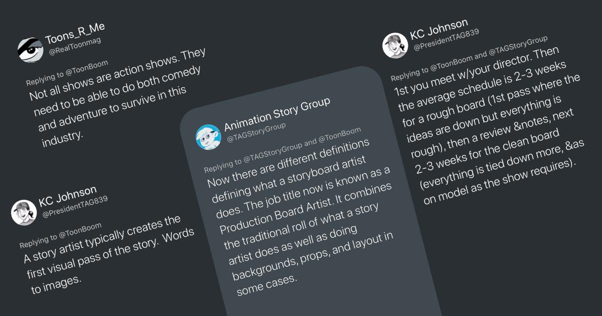 #ToonChat Recap: Storyboarding Roles & Careers