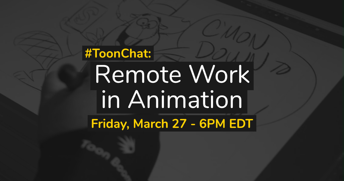#ToonChat: Remote work in animation