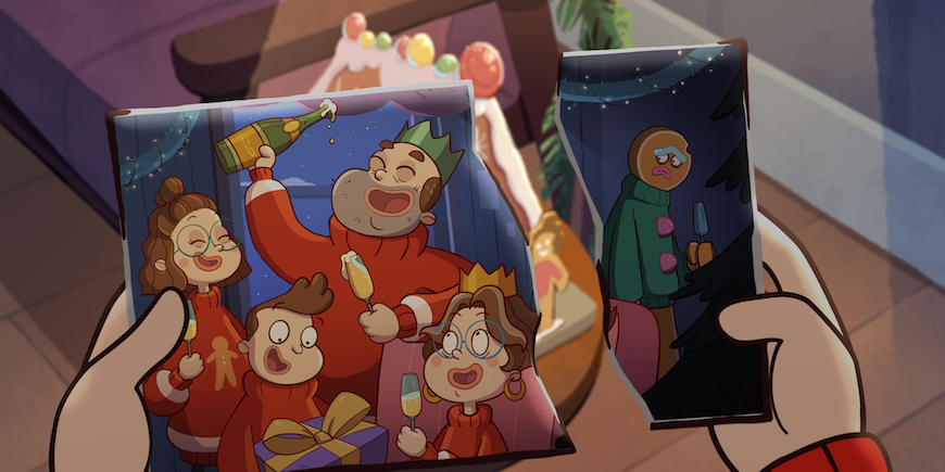 Unwrap Blue Zoo's Let's Not Go Away Christmas short